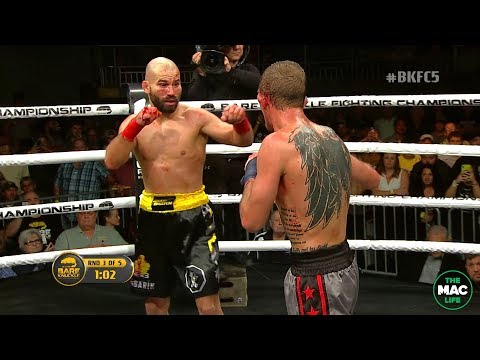FULL FIGHT: Artem Lobov vs. Jason Knight | Bare Knuckle FC 5