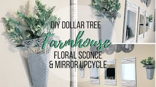 DIY DOLLAR TREE FARMHOUSE WALL…