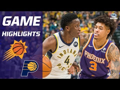 HIGHLIGHTS: Indiana Pacers 131, Phoenix Suns 97