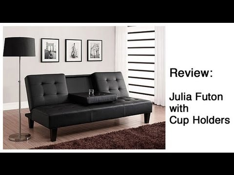 Review Julia Futon With Cup Holders