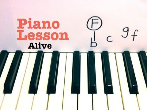 Alive- Piano Lesson - Hillsong Young & Free  (Todd Downing)