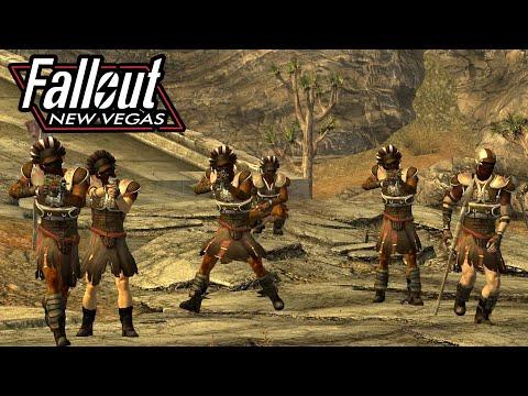 FALLOUT NEW VEGAS NPC Wars 2 (Caesar's Legion vs New California Republic) |