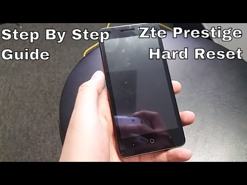How to hard reset ZTE Prestige (Boost Mobile) HD