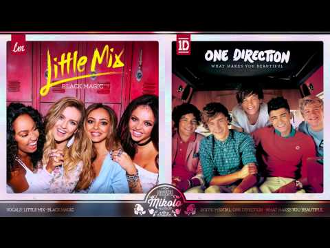 Little Mix vs. One Direction - Black Magic (Mashup)