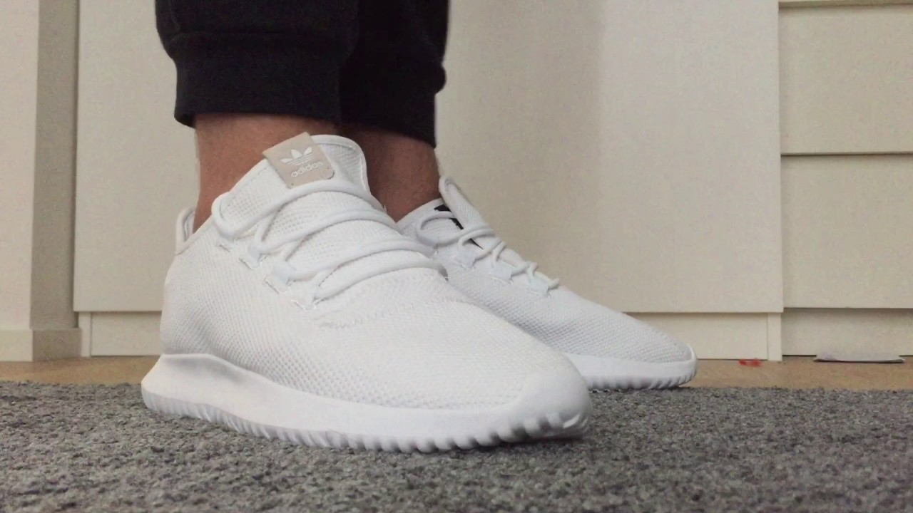 release date: 59d88 c4a82 Adidas Tubular shadow white unboxing + on feet