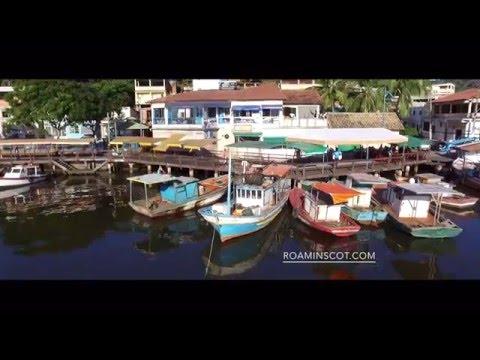 Travel Guide Brazil - Greater Vitoria 02 - Ilha Das Caieiras Espirito Santo Aerial drone phantom 4