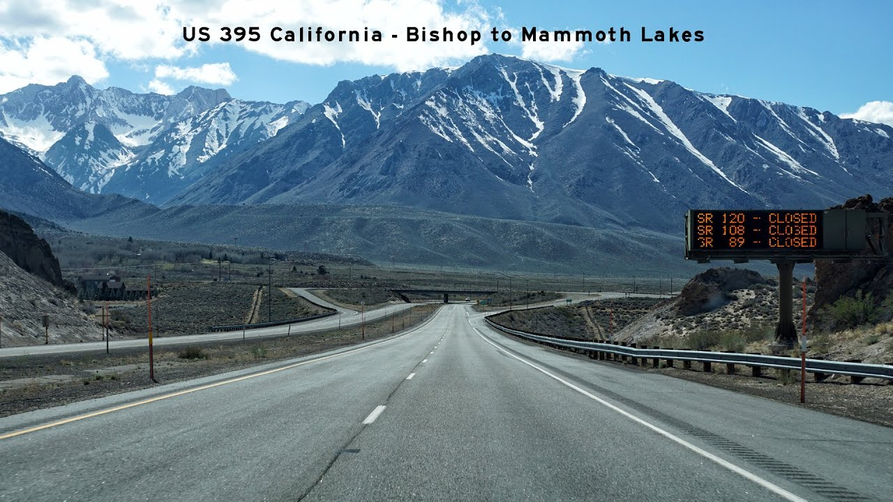 2016-04-13 - US 395 The Eastern Sierra Byway - Bishop to Mammoth Lakes