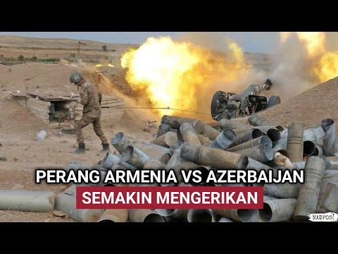 PERANG ARMENIA VS AZERI MAKIN PANAS – IRAN T3MB4K JATUH DRONE ISRAEL