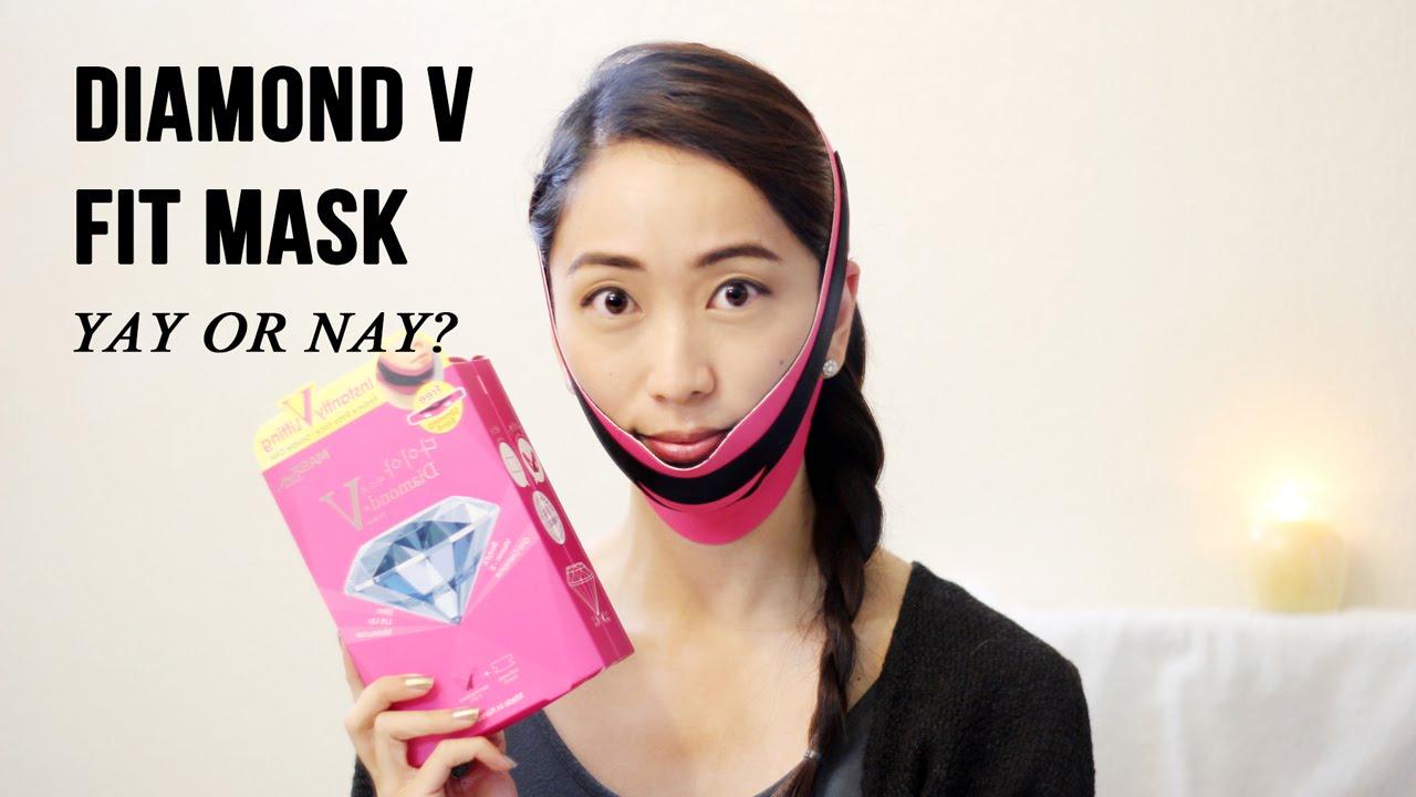 diamond v slimming mask review