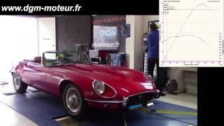 JAGUAR TYPE E V12 - Dijon Gestion Moteur