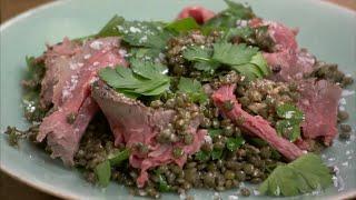 Festive Gifts! Day 19 - Nigel Slater's Hangover Beef Salad - Bbc
