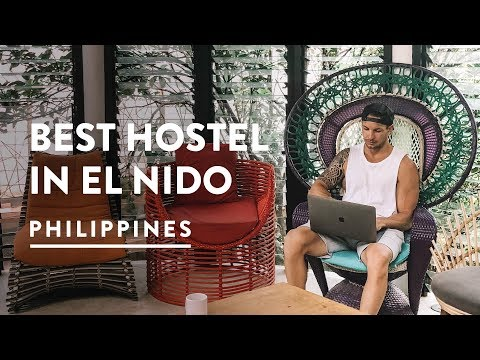 AWESOME EL NIDO ACCOMMODATION - SPIN DESIGNER HOSTEL | PALAWAN - Philippines Travel Vlog 106, 2018