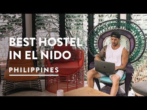 AWESOME EL NIDO ACCOMMODATION – SPIN DESIGNER HOSTEL | PALAWAN – Philippines Travel Vlog 106, 2018