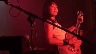 Shonen Knife live at the Bodega Club, 10 September 2011.