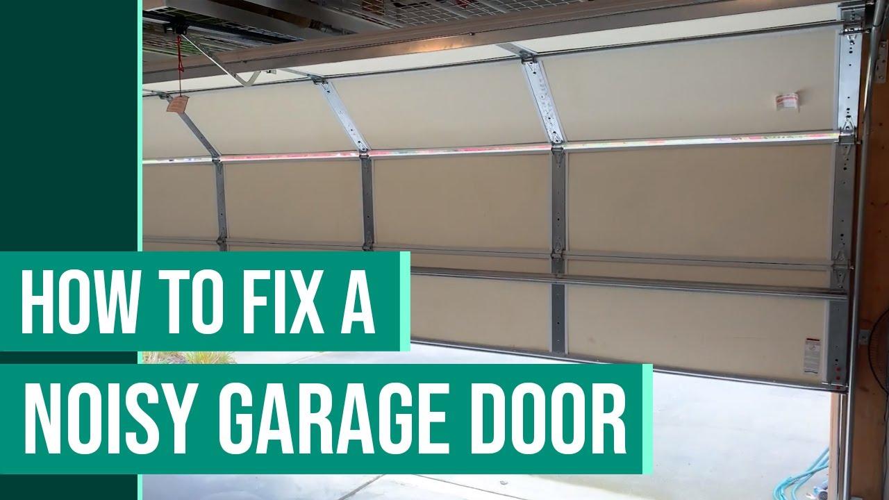 Noisy Garage Door Repair Squeaky Garage Door Rollers