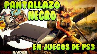 Solución PANTALLAZO NEGRO en juegos PS3 (pirata o no) - almadgata