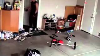 LMAO! Super Workout Prank..