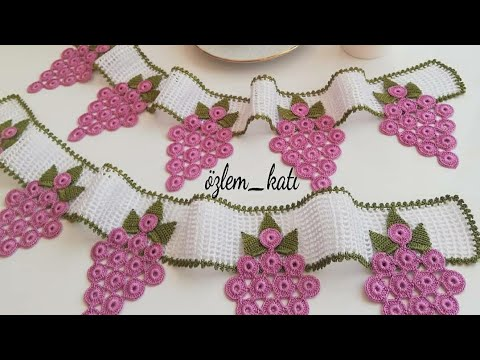 Tığişi Örgü Havlu Kenarı Yapımı &  Crochet
