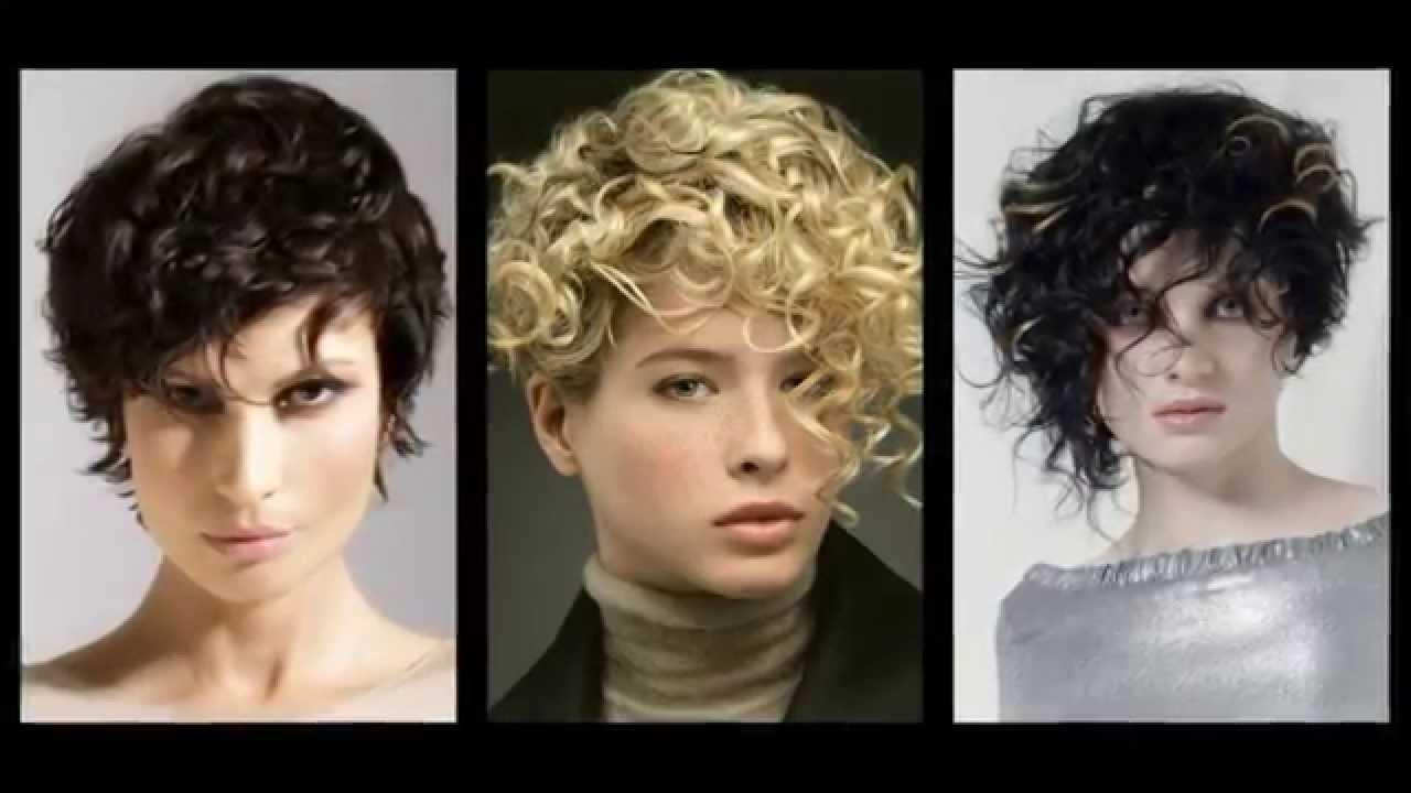 Стрижки на короткие кудрявые волосы фото женские 2016