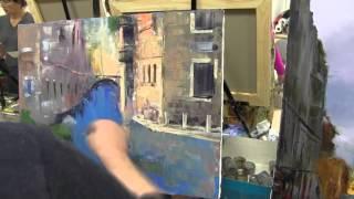 Игорь Сахаров, живопись маслом в Москве, научиться рисовать маслом