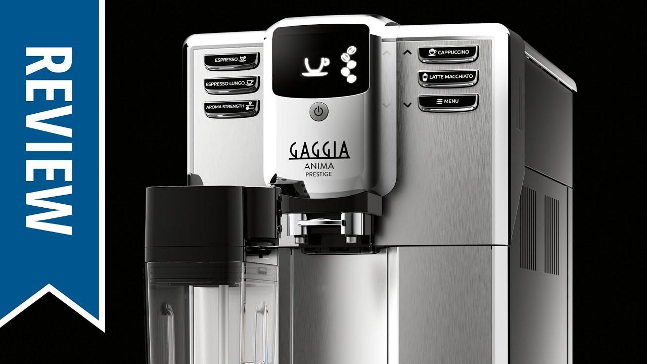 Review Gaggia Anima Prestige Espresso Machine