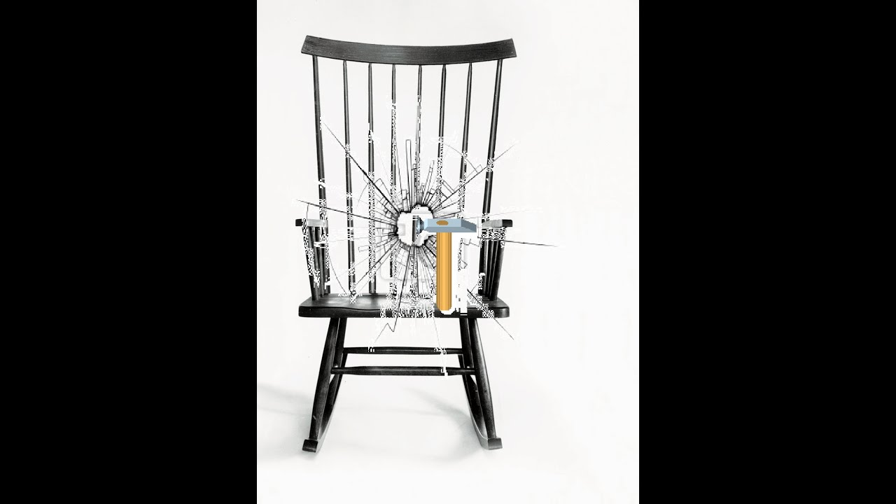 Scary Rocking Chair ~ Jumpscare destruction i scary rocking chair captions