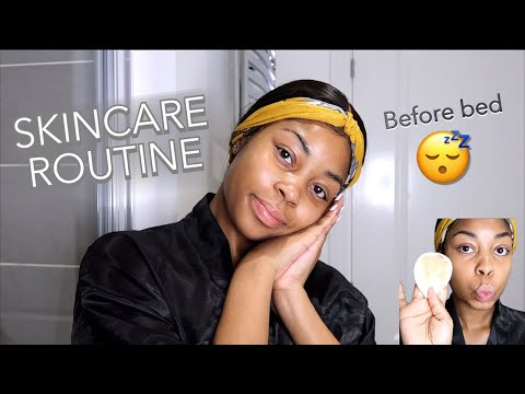 NIGHT TIME SKINCARE ROUTINE | LISAAH MAPSIE thumbnail