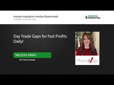 Day Trade Gaps For Fast Profits Daily! Melissa Armo