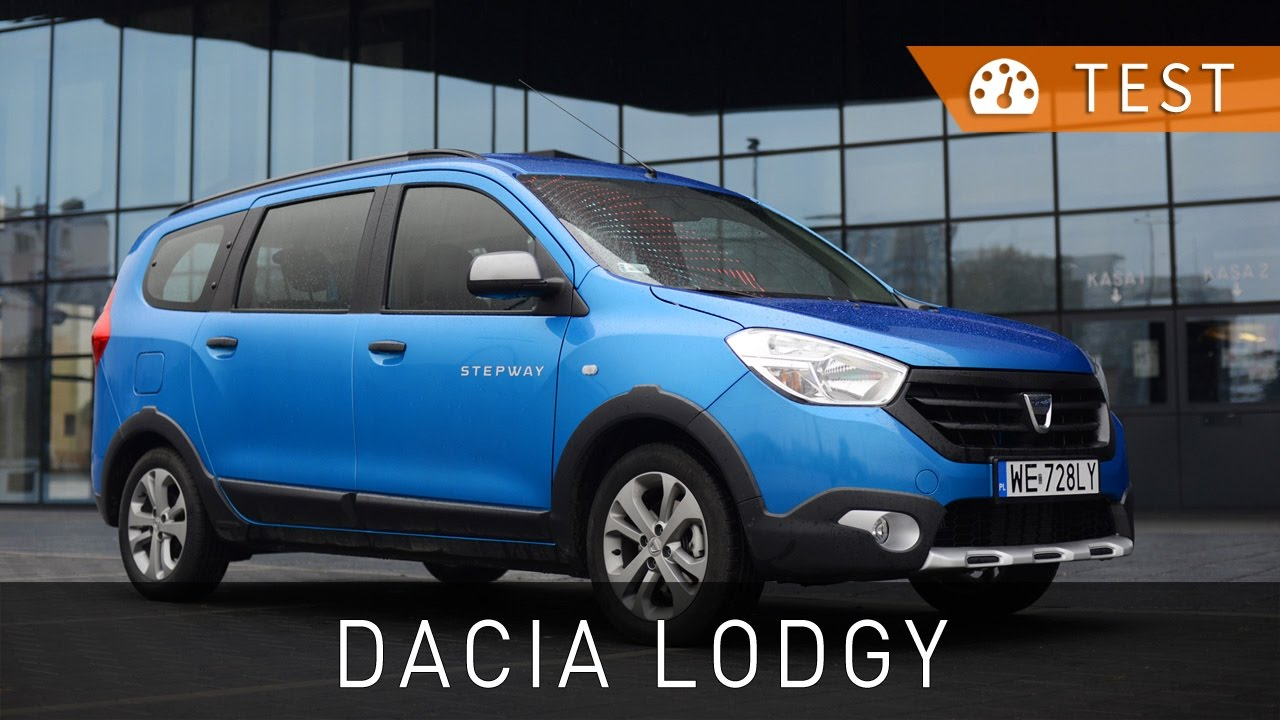 dacia lodgy stepway 1 2 tce 115 s s 2016 test pl review eng sub project automotive. Black Bedroom Furniture Sets. Home Design Ideas