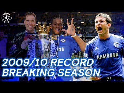 Chelsea's Record Smashing, Net Breaking, Winning Season   2009/10