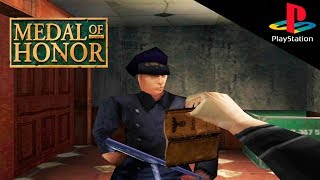Обзор Medal of Honor 1999 (Playstation 1) - Вспомнить всё №1