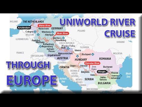 Uniworld River Cruise Through Europe