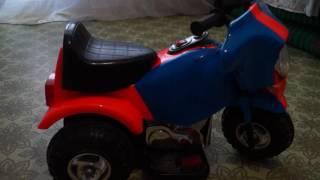 Светящаяся флуорисцентная краска ( покраска электро мотоцикла )(Доработка детского электро мотоцикла своими руками. Я просто прикинул по деньгам если взять корпус по дешо..., 2016-08-29T07:24:56.000Z)