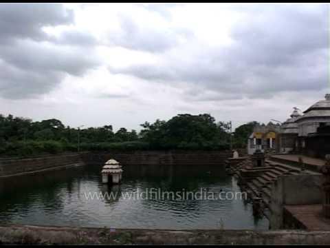 Temple pond at Kedareswar Temple in Bhubaneshwar