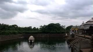 Temple pond at Kedareswar Temple in Bhubaneshwar