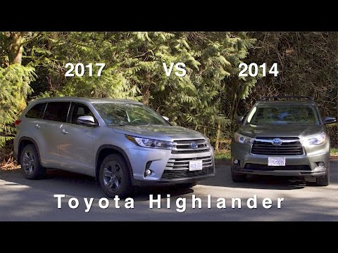 2017 Toyota Highlander Hybrid Review - What's the Difference?