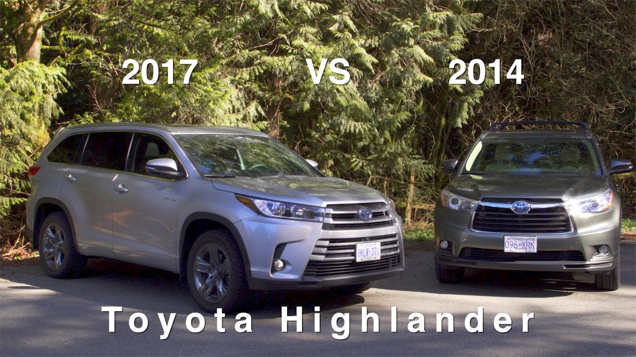 2017 Toyota Highlander Hybrid Review What S The Difference