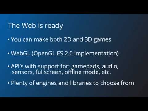Why An HTML 5 Game