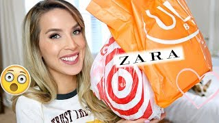 TARGET ULTA ZARA HAUL | Housecoat?! How Dare You.
