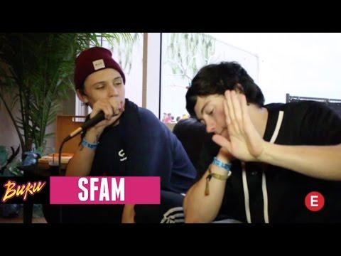 BUKU FEST 2017 - SFAM (Backstage Interview)