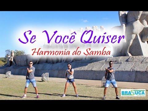 Harmonia do Samba - Se você quiser(Coreografia Brasuca)