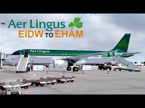 Prepar3D | St. Patrick's Day Special EIDW To EHAM | FS Labs A320