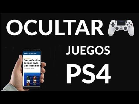 Cómo Ocultar Juegos en la Biblioteca de PS4
