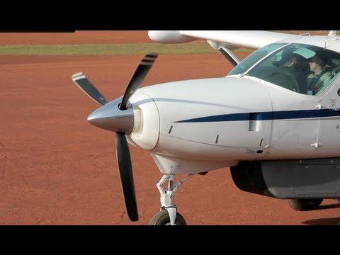Cessna 208 Caravan Flight Uganda-Tanzania