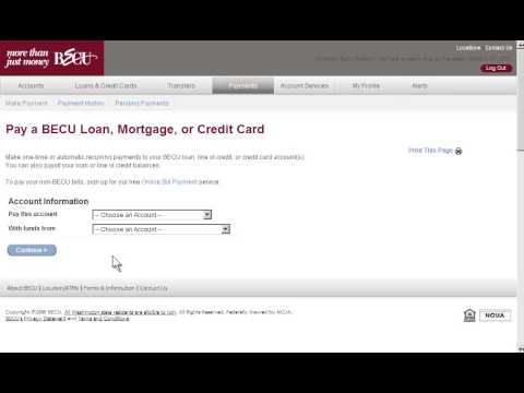 How To's | Online Banking | BECU