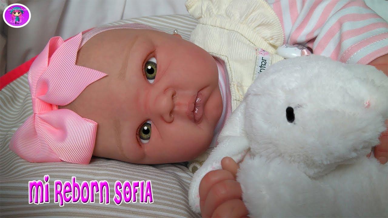 exuberante en diseño 2019 profesional Mitad de precio My baby REBORN Sofia has just been born 🍼 The doll reborn MOST BEAUTIFUL