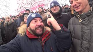 Зимняя Классика КХЛ в Риге/матч Динамо Рига - Динамо Минск