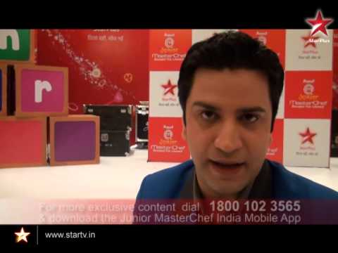 Get Chef Kunal's Recipes On The Free Junior MasterChef India Mobile App Now!