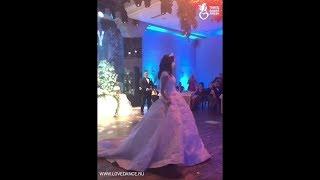 Свадебный танец Екатерины и Ильнура: романтика, лирика, нежность