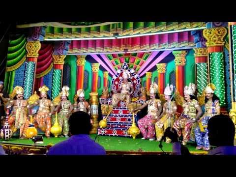 Nataka Sampoorna Ramayana...raavana darbar ಹಾಗೆ SUBSCRIBE ಮಾಡಿ..act: manju kempamma devi nagar